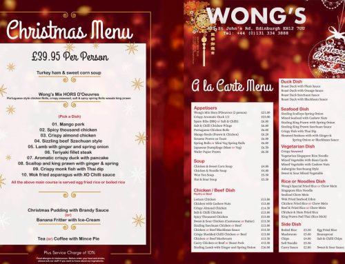 Christmas and new year booking is open now